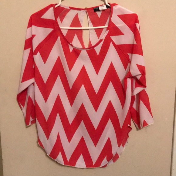 Absolute Angel Tops - Chevron top